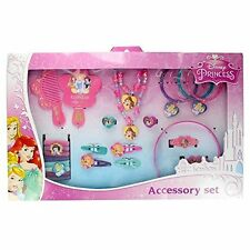 Disney Princess 25 Piece Kids Hair & Jewellery Accessory Gift Set by Disney