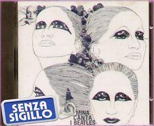 "MINA "" CANTA I BEATLES "" CD NUOVO PDU-EMI  1° EDIZIONE"