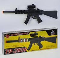 TD2020 Kids Toy Military Assault Rifle Gun with Flashing Lights Sound Vibration