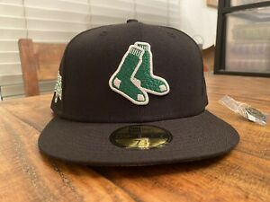 Hat Club Boston Red Sox Fenway Park Celtics NBA Crossover New Era Hat 7 3/4