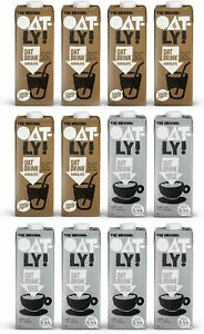 OATLY Oat Drink Barista Edition 1 Litre + Chocolate 1 Litre (Pack of 12)