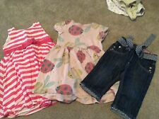 3 Items 2/3 Year Girls Clothing  2 X Mothercare  Next 1 Pair Junior J Jeans