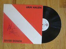 MICHAEL ANTHONY of VAN HALEN signed DIVER DOWN 1982 Record COA