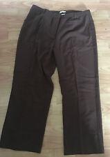 New Damart Tummy Slimmer Trousers - Brown Size UK 20 EU 48 US 16