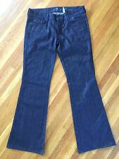 7 For All Mankind A POCKET Boot Cut Jeans Lexie Womens 28P 28 Petite 28x30.5