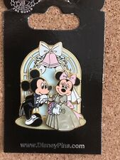 New ListingDisney Mickey Mouse & Minnie Mouse Wedding Pin