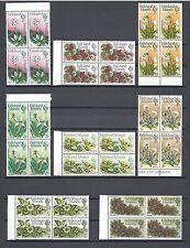 FALKLAND ISLANDS 1972 SG 276/88 MNH Blocks of 4 Cat £168