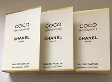 3 x Chanel Coco Mademoiselle Eau De Parfum 1.5ml Mini Sprays
