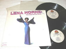 "Lena Lorne ""The Lady And Her Music"" 1981 Jazz, 2-LP's, Nice EX!, w/ Shrink"