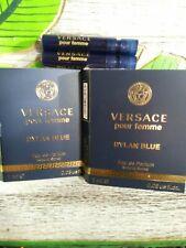 2pc Versace Pour Femme Dylan Blue EDP Spray 0.03oz Travel/Purse Size Fragrance