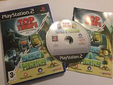 PLAYSTATION 2 PS2 juego Top Trumps aventuras Vol.1 horror & depredadores Completa