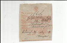 Prussia V Andernach 22 Dec 1839, Handwritten. on Postschein