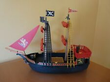 Blackbeard's Large Pirate Ship Playmobil 5736 4424
