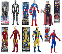 "Marvel Avengers 12"" inch Action Figures Titan Hero Series Official Hasbro"