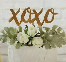 Kate Aspen XOXO Love Cake Topper and Wedding Decoration Food Safe Acrylic NEW