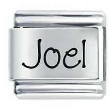 JOEL Name - Daisy Charm by JSC Fits Classic Size Italian Charms Bracelet