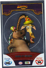 Vignette de collection autocollante CORA Madagascar 3 n° 84/90 - Gloria & Melman