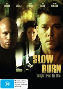 Slow Burn DVD Ray Liotta - BRAND NEW & SEALED - AUSTRALIA