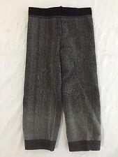Zara Terez Leggings Sweatpants Frosty Black/Gray Size 0/S NWOT!