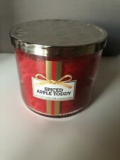 Bath & Body Works 3-Wick Spiced Apple Toddy Scented Candle 14.5 Oz New