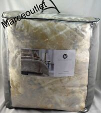 Hotel Collection Metallic Stone Full / Queen Comforter Gold