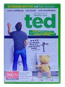 Ted:  Mark Wahlberg,  Patrick Stewart (DVD, 2012) PAL Region 4 FREE POST