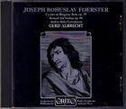 FOERSTER Violin Concerto Cyrano de Bergerac GERD ALBRECHT CD Andrea D Löwenstein