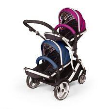 Duellette BS Double twin Pushchair pram travel system Tandem stroller