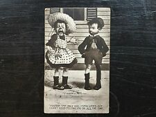 c.1907 Postcard Young Couple by T. Sheahan - Posted