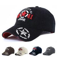 Jeep Men Women Hat Baseball Hat Golf Ball Sport Casual Sunproof Cap Casquette