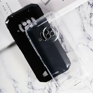 New Ultra Thin Soft Silicone Clear Black TPU Case Cover For Dogee S96 Pro