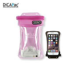 Dicapac WP-C2 Underwater Waterproof Case for Up to 5.7″ iPhone 6 6s plus Pink