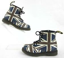 Dr. Martens Brooklee 'Union Jack' Boots Toddler EU 27 / US 10 Rare Sold Out!