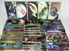 2009 TOPPS STAR WARS CLONE WARS WIDEVISION CHASE SETS OF ALL 43 CARDS