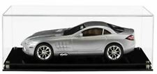 Acrylic Display Case for a 1 12 Scale Model Car Modern Black Acrylic Base