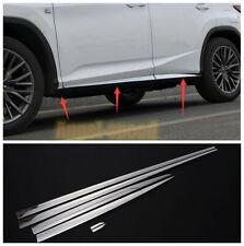 FIT Lexus RX350 300 450h 200t 350L 450hL Body Side Door Mouldings Cover Trim 6X