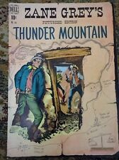 Zane Grey's Thunder Mountain Dell Comic Book #246 36 pages 1949 Magazine Vintage