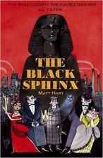 The Black Sphinx, New, Matt Hart Book