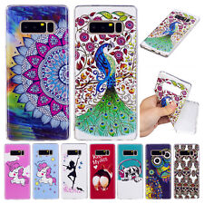 Cute Luminous Soft Rubber TPU Case Shockproof Cover For Samsung Galaxy Phone/S8+