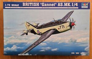 """Trumpeter BRITISH """"Gannet"""" AS.Mk.1/4 + Australian RAN Decals! BRAND NEW!"""