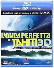 Blu Ray L' Onda Perfetta Di Tahiti 3D (Blu Ray+Blu Ray 3D) ......NUOVO