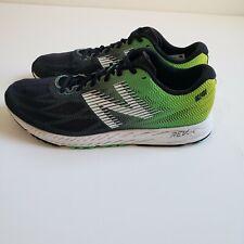 Balance Men's 1400v6 Black/NEON Emerald/HI-LITE Running Shoe's Men's US 11
