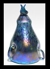 Blue Luster Roman Vase with Handles Design. Saul Alcaraz