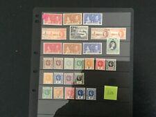 More details for leeward isls hoard of 28 stamps inc better vfu/fu/gu/lhm (w49)
