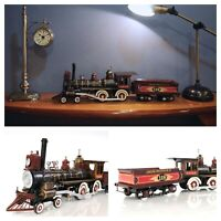"Union Pacific STEAM LOCOMOTIVE 21"" Metal Display Train Model Collectible Decor"