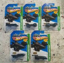 Lot of 5 2013 Hot Wheels 1:64 HW Imagination BATMAN LIVE BATMOBILE!!!