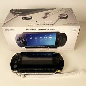 Sony PSP Value Pack TESTED works PSP-1001K
