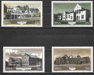 SOUTH WEST AFRICA -1985 Historic Buildings of Windhoek - MUH SET.