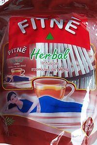 Minceur naturelle Régime FITNE HERB.40 sachets de thé tisane saveur originale