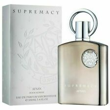 SUPREMACY SILVER MEN BY AFNAN 100ml EXQUISITE EDP PERFUME SPRAY **AVENTUS TYPE**